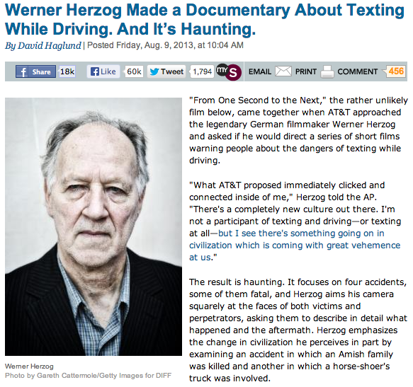 Herzog_Doc_on_Texting_While_Driving_Slate
