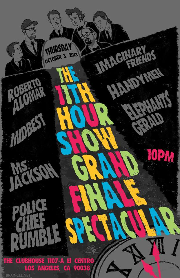 ShowFlyer_100413TH_The_11th_Hour_Show